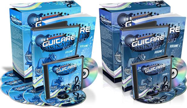 Une méthode de guitare blues complète, en deux volumes !